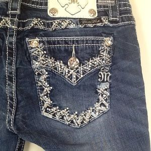 Miss Me jeans size 25 inseam 29